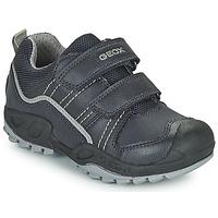 鞋子 男孩 短筒靴 Geox 健乐士 SAVAGE 海蓝色
