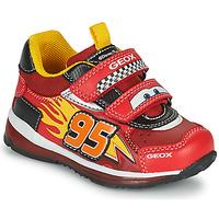鞋子 男孩 球鞋基本款 Geox 健乐士 TODO 红色 / 黄色