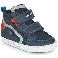 鞋子 男孩 高帮鞋 Geox 健乐士 KILWI 海蓝色