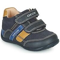鞋子 男孩 球鞋基本款 Geox 健乐士 ELTHAN 海蓝色