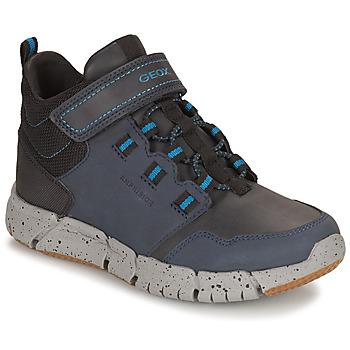 鞋子 男孩 短筒靴 Geox 健乐士 FLEXYPER ABX 海蓝色