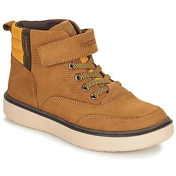 鞋子 男孩 短筒靴 Geox 健乐士 RIDDOCK WPF 驼色