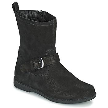鞋子 女孩 都市靴 Geox 健乐士 SHAWNTEL 黑色