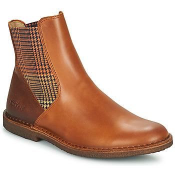 鞋子 女士 短筒靴 Kickers TINTO 驼色