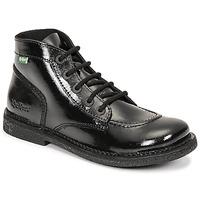 鞋子 女士 短筒靴 Kickers LEGENDIKNEW 黑色