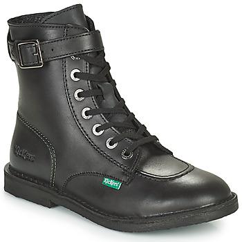 鞋子 女士 短筒靴 Kickers KICK TREND 黑色