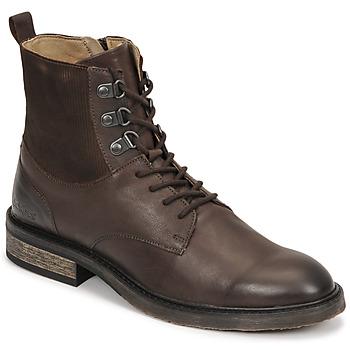鞋子 女士 短筒靴 Kickers ALPHAHOOK 棕色