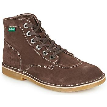 鞋子 女士 短筒靴 Kickers ORILEGEND 棕色