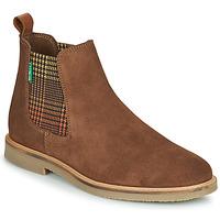 鞋子 女士 短筒靴 Kickers TYGA 驼色