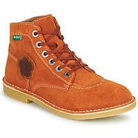 鞋子 女士 短筒靴 Kickers ORILEGEND 红色