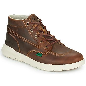 鞋子 男士 短筒靴 Kickers KICKI HI 3 棕色
