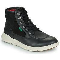 鞋子 男士 短筒靴 Kickers KICKI HI 4 黑色