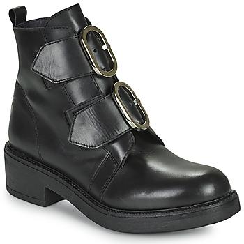 鞋子 女士 短靴 Myma TELLA 黑色