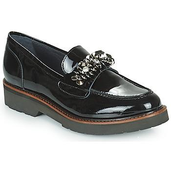 鞋子 女士 皮便鞋 Myma TOTILE 黑色