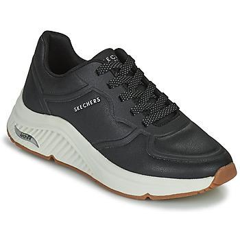 鞋子 女士 球鞋基本款 Skechers 斯凯奇 ARCH FIT S-MILES 黑色
