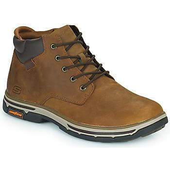 鞋子 男士 短筒靴 Skechers 斯凯奇 SEGMENT 2.0 棕色