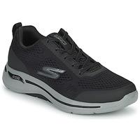 鞋子 男士 球鞋基本款 Skechers 斯凯奇 GO WALK ARCH FIT 黑色