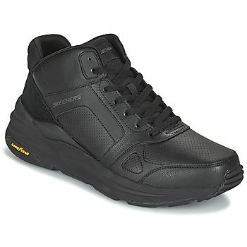 鞋子 男士 高帮鞋 Skechers 斯凯奇 GLOBAL JOGGER 黑色
