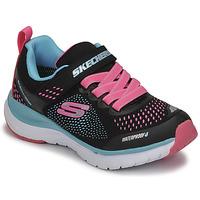 鞋子 女孩 球鞋基本款 Skechers 斯凯奇 ULTRA GROOVE 黑色 / 玫瑰色 / 蓝色