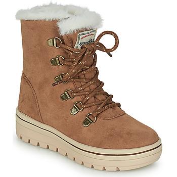 鞋子 女孩 短筒靴 Skechers 斯凯奇 STREET CLEATS 2 棕色