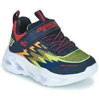 鞋子 男孩 球鞋基本款 Skechers 斯凯奇 VORTEX-FLASH 蓝色 / 橙色