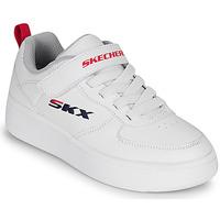 鞋子 儿童 球鞋基本款 Skechers 斯凯奇 SPORT COURT 92 白色