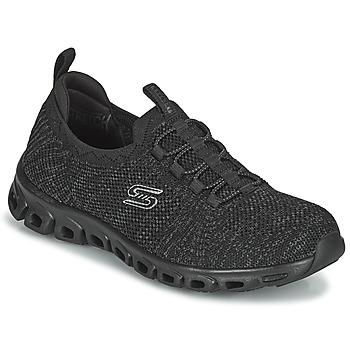 鞋子 女士 球鞋基本款 Skechers 斯凯奇 GLIDE-STEP 黑色