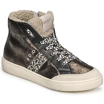鞋子 女士 高帮鞋 Meline CAR1425 黑色