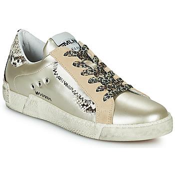 鞋子 女士 球鞋基本款 Meline NK139 金色 / Python