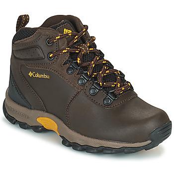 鞋子 儿童 登山 Columbia 哥伦比亚 YOUTH  NEWTON RIDGE 棕色