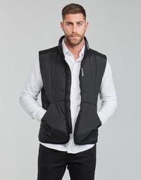 衣服 男士 羽绒服 Calvin Klein Jeans PADDED VEST 黑色