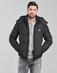 衣服 男士 羽绒服 Calvin Klein Jeans ESSENTIALS NON DOWN JACKET 黑色