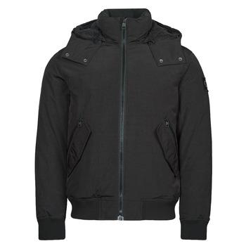 衣服 男士 棉衣 Calvin Klein Jeans SHERPA LINED SHORT JACKET 黑色