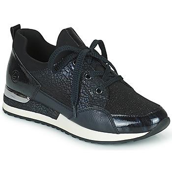 鞋子 女士 球鞋基本款 Remonte ANITAS 黑色 / 白色