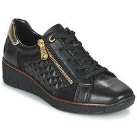 鞋子 女士 球鞋基本款 Rieker 瑞克尔 THOMANISA 海蓝色