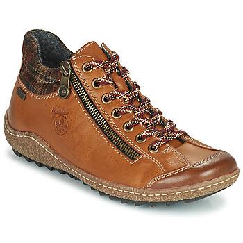 鞋子 女士 短筒靴 Rieker 瑞克尔 KAMELO 棕色