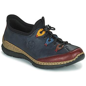 鞋子 女士 德比 Rieker 瑞克尔 ENCORRA 蓝色 / 红色 / 黄色