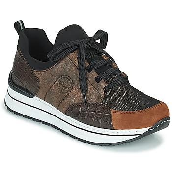 鞋子 女士 球鞋基本款 Rieker 瑞克尔 TEMPORA 棕色