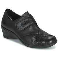 鞋子 女士 皮便鞋 Rieker 瑞克尔 DEVENIRA 黑色