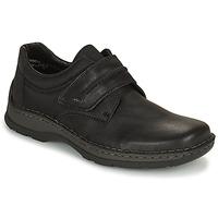 鞋子 男士 德比 Rieker 瑞克尔 EARNA 黑色