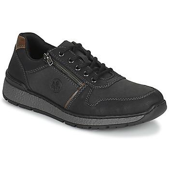 鞋子 男士 德比 Rieker 瑞克尔 FOLLON 黑色