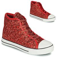 鞋子 女孩 高帮鞋 Citrouille et Compagnie OUTIL 红色