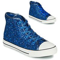 鞋子 女孩 高帮鞋 Citrouille et Compagnie OUTIL 蓝色