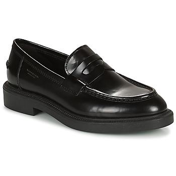 鞋子 女士 皮便鞋 Vagabond ALEX W 黑色