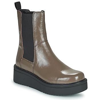 鞋子 女士 短筒靴 Vagabond TARA 棕色 / 米色