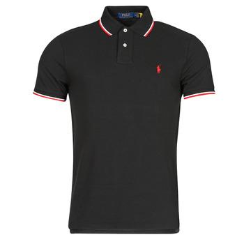 衣服 男士 短袖保罗衫 Polo Ralph Lauren CALMIRA 黑色