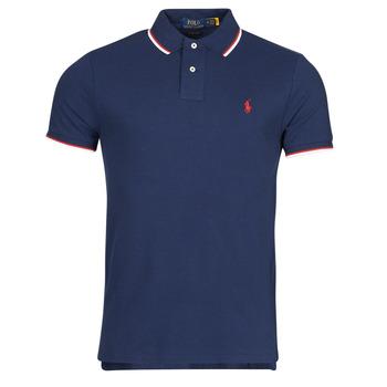 衣服 男士 短袖保罗衫 Polo Ralph Lauren CALMIRA 蓝色