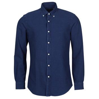 衣服 男士 长袖衬衫 Polo Ralph Lauren TRENNYB 天鹅绒 / 蓝色