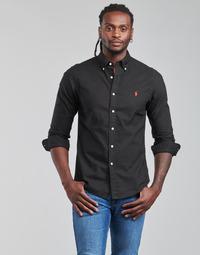 衣服 男士 长袖衬衫 Polo Ralph Lauren CAMISETA 黑色