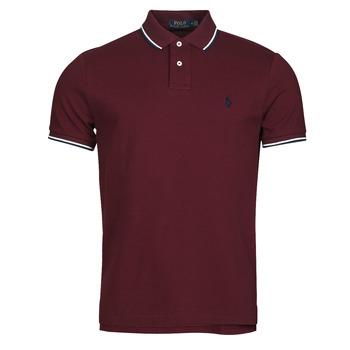 衣服 男士 短袖保罗衫 Polo Ralph Lauren HOULIA 波尔多红
